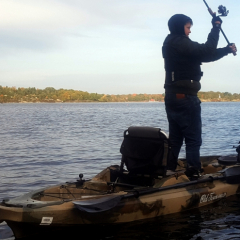 Fiskekajak Oktober