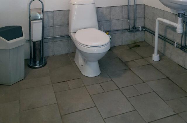 WC in Laggån