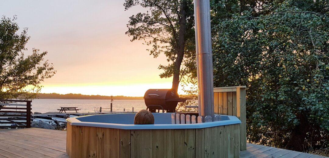 Badtunna-wood fired bathtub