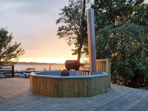 Badtunna-wood fired bathtub