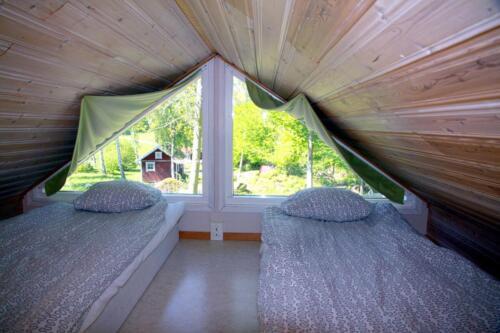Sleeping loft 1 of 2 6 bed house